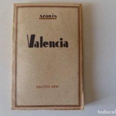 Libros antiguos: LIBRERIA GHOTICA. AZORÍN. VALENCIA. 1920. BIBLIOTECA NUEVA.MADRID.. Lote 157130202