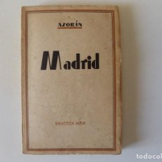 Libros antiguos: LIBRERIA GHOTICA. AZORÍN. MADRID.1920. BIBLIOTECA NUEVA. MADRID.. Lote 157130338
