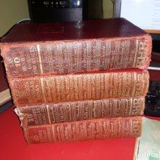 Libros antiguos: 4 GRANDES LIBROS DE EDITORIAL A.H.R. LAS MEJORES NOVELAS 1966. Lote 157259734