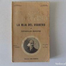 Libros antiguos: LIBRERIA GHOTICA. ESTANISLAO MAESTRE. 1910. BIBLIOTECA PATRIA. MODERNISMO.. Lote 157914706