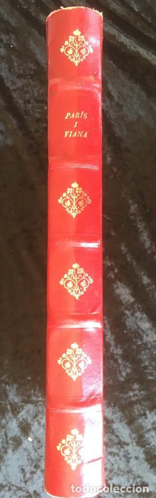 Libros antiguos: HISTORIA DE PARIS I VIANA - PRECIOSA ENCUADERNACION PIEL - COLECCIONISTAS - Foto 8 - 157955446