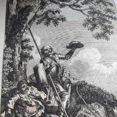 Libros antiguos: QUIJOTE EN LNGLES HISTORY AVENTURES QUIXOTE CON GRABADOS HAYMAN.LONDRES 1761. Lote 158387994
