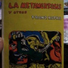 Livres anciens: LA METAMORFOSIS Y OTROS. Lote 158862314