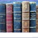 Libros antiguos: LOTE DE ELEGANTES LIBROS DE LITERATURA DEL SIGLO XIX.. Lote 159694846