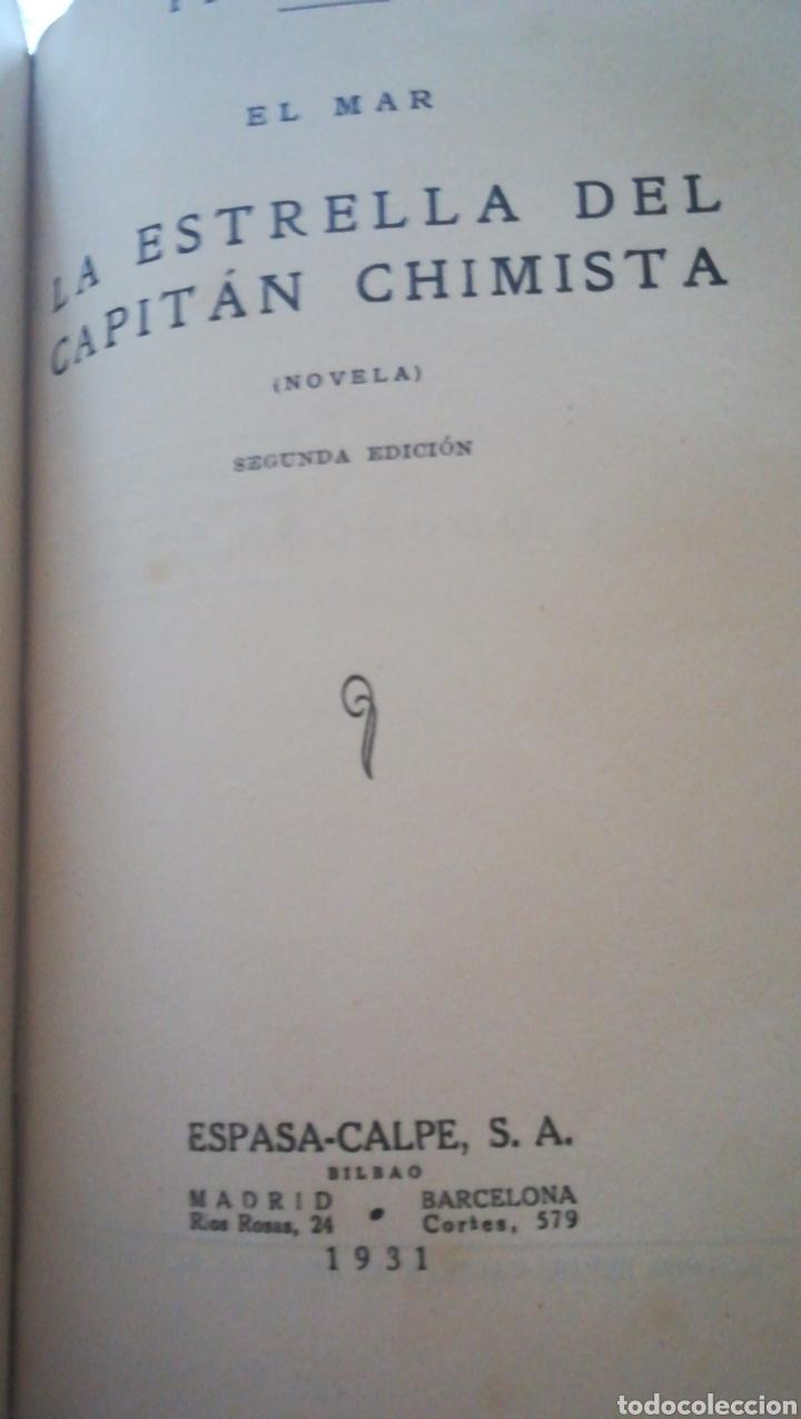 LOS PILOTOS DE ALTURA Y LA ESTRELLA DEL CAPITÁN CHIMISTA. PIO BAROJA. EL MAR. 1931 (Libros antiguos (hasta 1936), raros y curiosos - Literatura - Narrativa - Clásicos)