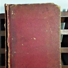 Libros antiguos: EL INGENIOSO DON QUIJOTE DE LA MANCHA. 2 TOMOS EN I VOLÚMEN. BARCELONA. 1882.. Lote 159985526