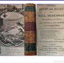 Libros antiguos: AÑO 1793: ROMEO Y JULIETA. WILLIAM SHAKESPEARE. LIBRO DEL SIGLO XVIII.. Lote 160032006