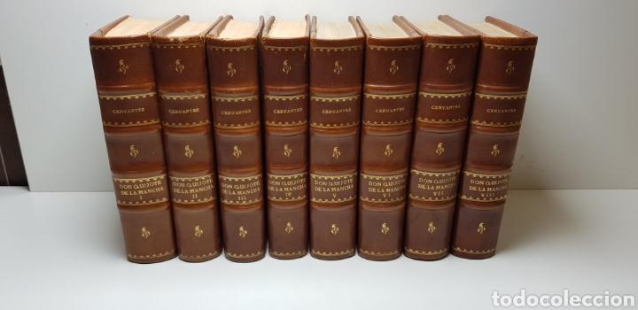 DON QUIJOTE DE LA MANCHA, 8 TOMOS COMPLETA 1911 (Libros antiguos (hasta 1936), raros y curiosos - Literatura - Narrativa - Clásicos)