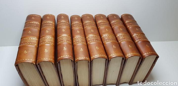 Libros antiguos: DON QUIJOTE DE LA MANCHA, 8 tomos completa 1911 - Foto 4 - 160250674