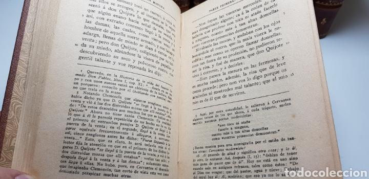 Libros antiguos: DON QUIJOTE DE LA MANCHA, 8 tomos completa 1911 - Foto 3 - 160250674