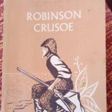 Libros antiguos: ROBINSON CRUSOE OXFORD UNIVERSITY. Lote 161355046