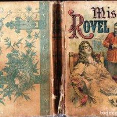 Alte Bücher - CHERBULIEZ : MISS ROVEL (CALLEJA, S.F.) - 161536722