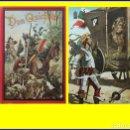 Libros antiguos: DON QUIJOTE DE LA MANCHA. CON ILUSTRACIONES A COLOR. SIGLO XIX?. Lote 162597506