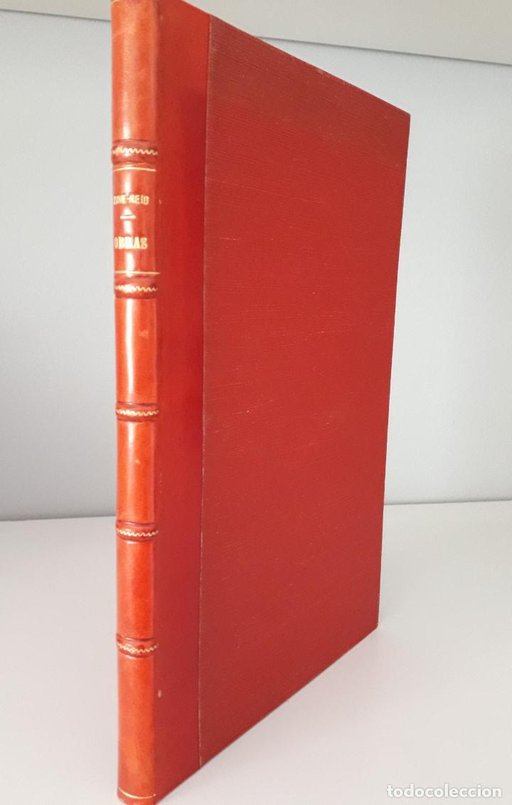 MAINE -REID. AVENTURAS DE MAR Y TIERRA, TRES TÍTULOS ENCUADERNADOS.1877 (Libros antiguos (hasta 1936), raros y curiosos - Literatura - Narrativa - Clásicos)