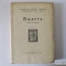 Libros antiguos: LIBRERIA GHOTICA. HUARTE.EXAMEN DE INGENIOS. 1930. FOLIO.BIBLIOTECA DE FILÓSOFOS ESPAÑOLES.. Lote 162956362