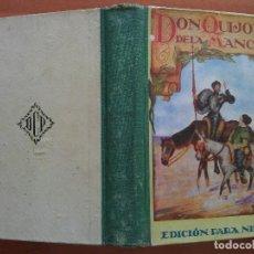 Libros antiguos: DON QUIJOTE ESCOLAR - CERVANTES. Lote 163391826