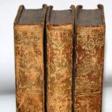 Libros antiguos: DON QUJOTE DE LA MANCHA-3 TOMOS-1845-VDA É HIJOS MAYOL.. Lote 163524966