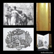 Libros antiguos: AÑO 1759 MARCI ACII PLAUTI COMODIAE ANTIGUA ROMA LAS COMEDIAS DE PLAUTO GRABADO FRONTISPICIO BARBOU. Lote 163687666