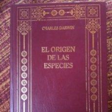 Libros antiguos: EL ORIGEN DE LAS ESPECIES. DARWIN.. Lote 163754586