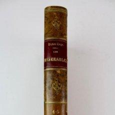 Libros antiguos: L-757.LOS MISERABLES.POR VICTOR HUGO.ILUSTRADO POR LABARTA.TOMO 4 Y 5.ED R. SALVATELLA.. Lote 164076122