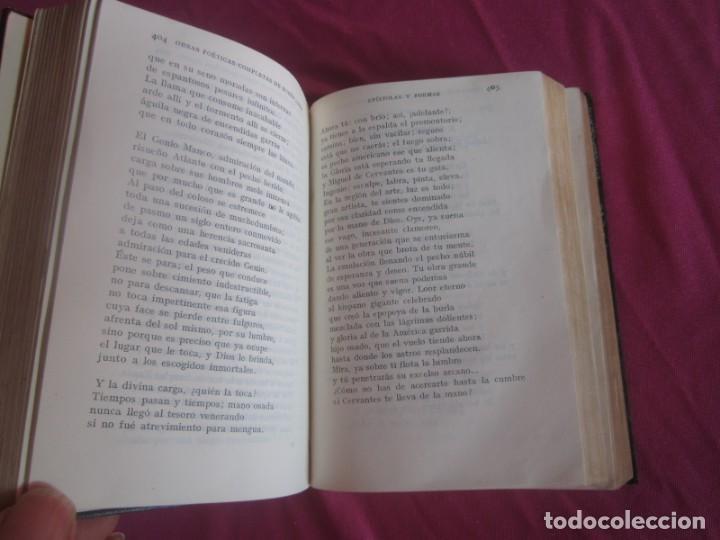 Libros antiguos: POESÍAS OBRAS COMPLETAS RUBÉN DARÍO .PRIMERA EDICION 1932 AGUILAR - Foto 9 - 164467030