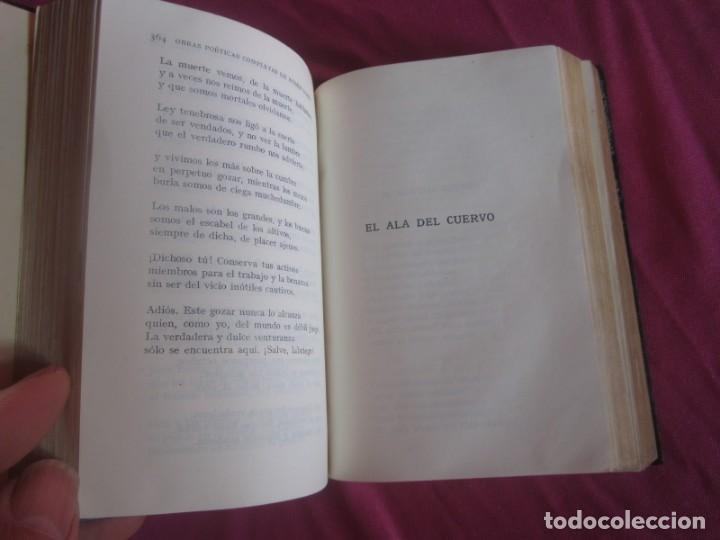 Libros antiguos: POESÍAS OBRAS COMPLETAS RUBÉN DARÍO .PRIMERA EDICION 1932 AGUILAR - Foto 10 - 164467030
