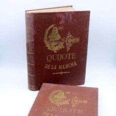 Libros antiguos: DON QUIJOTE DE LA MANCHA. COMPLETO DOS TOMOS (MIGUEL DE CERVANTES) FELIPE GONZÁLEZ ROJAS, 1887. Lote 164588065