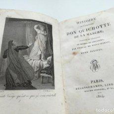 Libros antiguos: DON QUIJOTE DE LA MANCHA (PARIS, 1824) TOMO 6, DON QUICHOTTE. Lote 164830586