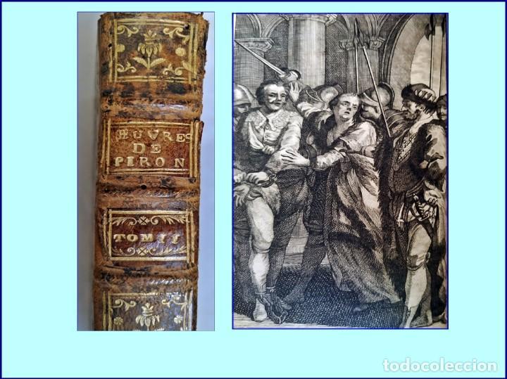 AÑO 1764: LIBRO DEL SIGLO XVIII CON UNA OBRA SOBRE HERNÁN CORTÉS. ILUSTRADO. (Libros antiguos (hasta 1936), raros y curiosos - Literatura - Narrativa - Clásicos)