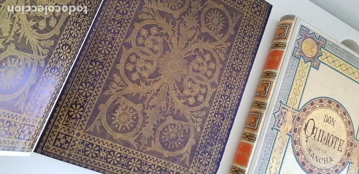 Libros antiguos: 1880.INGENIOSO HIDALGO DON QUIJOTE DE LA MANCHA.MONTANER SIMON. EXCLUSIVA 4 TOMOS BALACA. CERVANTES - Foto 3 - 164889466