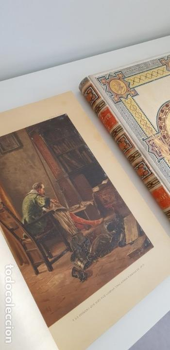 Libros antiguos: 1880.INGENIOSO HIDALGO DON QUIJOTE DE LA MANCHA.ED. MONTANER SIMON. EXCLUSIVA EN 4 TOMOS.IL. BALACA - Foto 9 - 164889466
