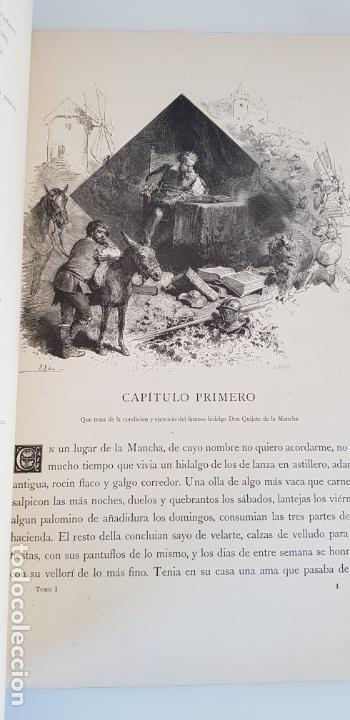 Libros antiguos: 1880.INGENIOSO HIDALGO DON QUIJOTE DE LA MANCHA.MONTANER SIMON. EXCLUSIVA 4 TOMOS BALACA. CERVANTES - Foto 8 - 164889466