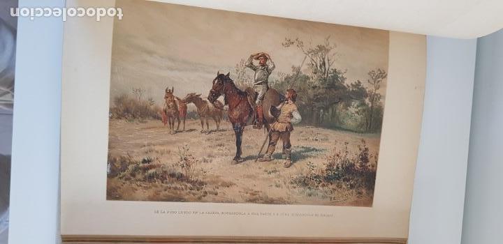 Libros antiguos: 1880.INGENIOSO HIDALGO DON QUIJOTE DE LA MANCHA.MONTANER SIMON. EXCLUSIVA 4 TOMOS BALACA. CERVANTES - Foto 12 - 164889466