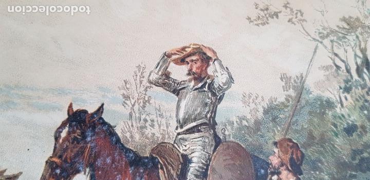 Libros antiguos: 1880.INGENIOSO HIDALGO DON QUIJOTE DE LA MANCHA.MONTANER SIMON. EXCLUSIVA 4 TOMOS BALACA. CERVANTES - Foto 13 - 164889466