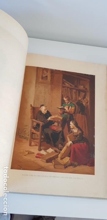 Libros antiguos: 1880.INGENIOSO HIDALGO DON QUIJOTE DE LA MANCHA.MONTANER SIMON. EXCLUSIVA 4 TOMOS BALACA. CERVANTES - Foto 14 - 164889466