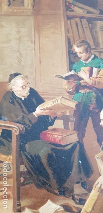 Libros antiguos: 1880.INGENIOSO HIDALGO DON QUIJOTE DE LA MANCHA.MONTANER SIMON. EXCLUSIVA 4 TOMOS BALACA. CERVANTES - Foto 16 - 164889466