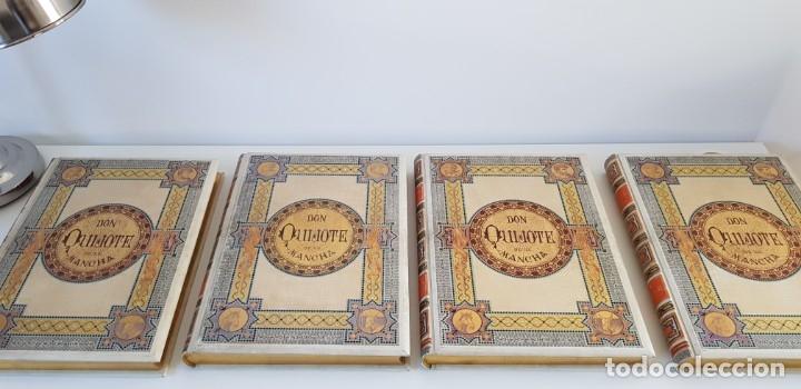 Libros antiguos: 1880.INGENIOSO HIDALGO DON QUIJOTE DE LA MANCHA.MONTANER SIMON. EXCLUSIVA 4 TOMOS BALACA. CERVANTES - Foto 10 - 164889466