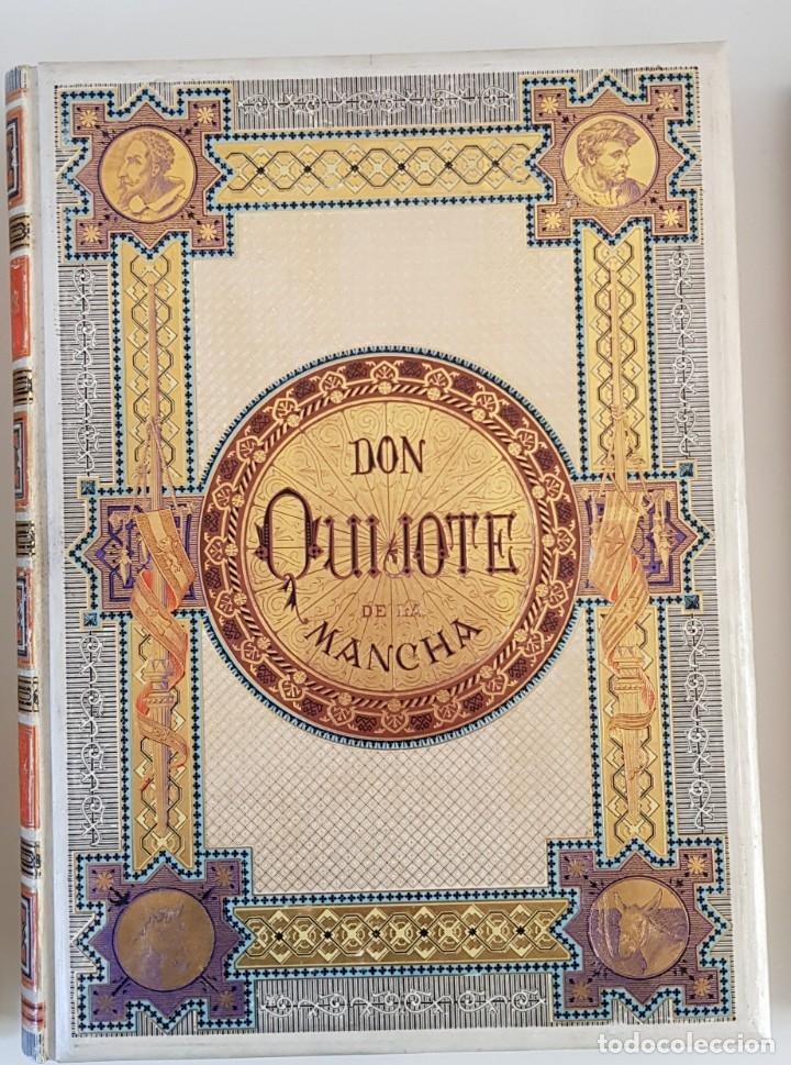 Libros antiguos: 1880.INGENIOSO HIDALGO DON QUIJOTE DE LA MANCHA.MONTANER SIMON. EXCLUSIVA 4 TOMOS BALACA. CERVANTES - Foto 18 - 164889466