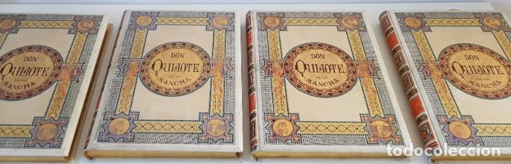 Libros antiguos: 1880.INGENIOSO HIDALGO DON QUIJOTE DE LA MANCHA.MONTANER SIMON. EXCLUSIVA 4 TOMOS BALACA. CERVANTES - Foto 23 - 164889466