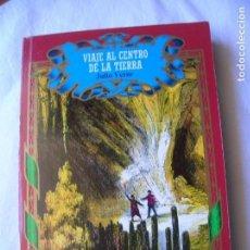 Libros antiguos: LIBRO VIAJE AL CENTRO DE LA TIERRA ,DE JULIO VERNE EDICIONES NAUTA 1987. Lote 165222718