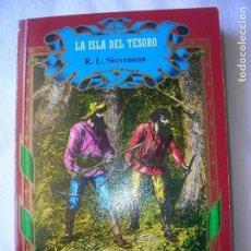 Libros antiguos: LIBRO DE R,L, STEVENSON ,LA ISLA DEL TESORO 253 PAGINAS EDICIONES NAUTA. Lote 165224546