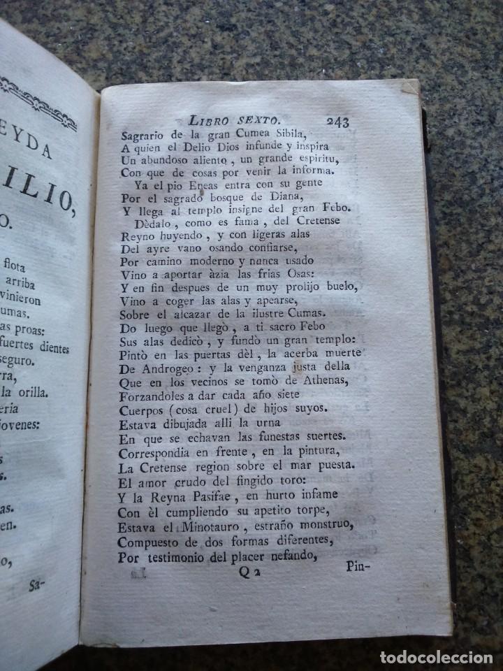 Libros antiguos: LA ENEYDA DE VIRGILIO - TOMO I -- TRADUCIDA POR GREGORIO HERNANDEZ DE VELASCO -- 1776 -- - Foto 3 - 165734738