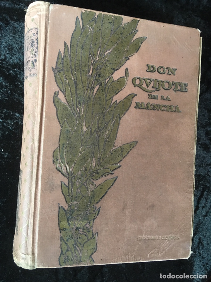 DON QUIJOTE DE LA MANCHA - CERVANTES - CALLEJA - COMPLETO - ILUSTRACIONES MANUEL ANGEL (Libros antiguos (hasta 1936), raros y curiosos - Literatura - Narrativa - Clásicos)