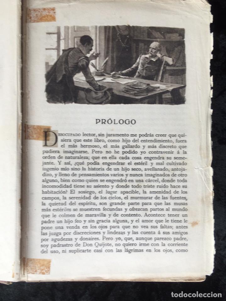 Libros antiguos: DON QUIJOTE DE LA MANCHA - CERVANTES - CALLEJA - COMPLETO - ILUSTRACIONES MANUEL ANGEL - Foto 5 - 165744322