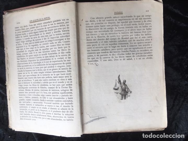 Libros antiguos: DON QUIJOTE DE LA MANCHA - CERVANTES - CALLEJA - COMPLETO - ILUSTRACIONES MANUEL ANGEL - Foto 6 - 165744322