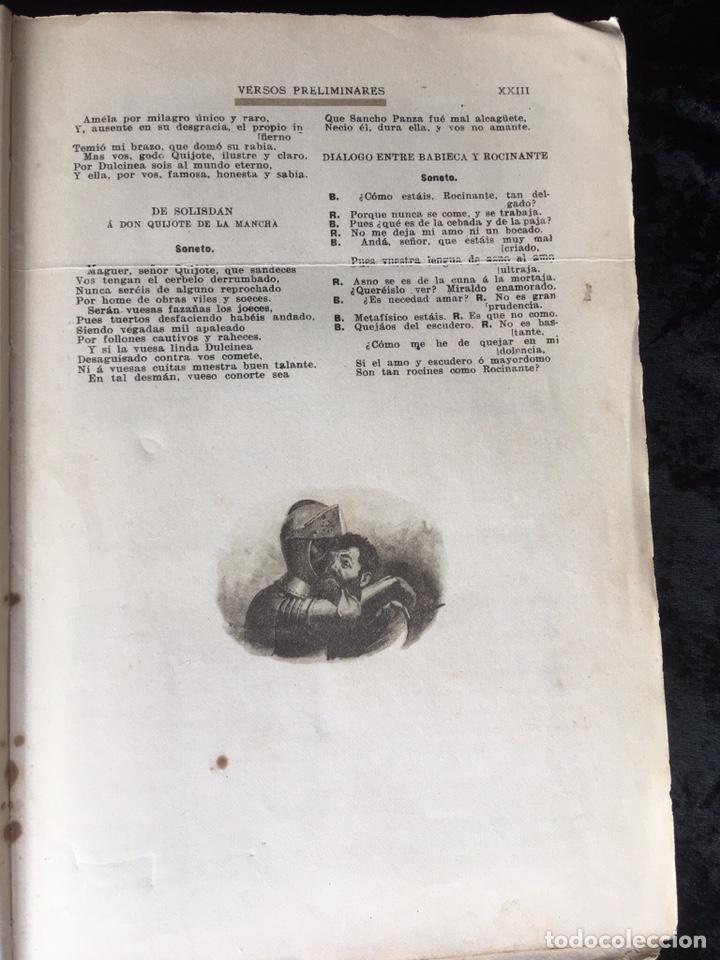 Libros antiguos: DON QUIJOTE DE LA MANCHA - CERVANTES - CALLEJA - COMPLETO - ILUSTRACIONES MANUEL ANGEL - Foto 7 - 165744322