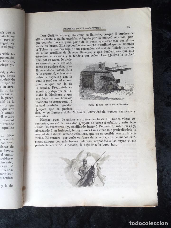 Libros antiguos: DON QUIJOTE DE LA MANCHA - CERVANTES - CALLEJA - COMPLETO - ILUSTRACIONES MANUEL ANGEL - Foto 9 - 165744322