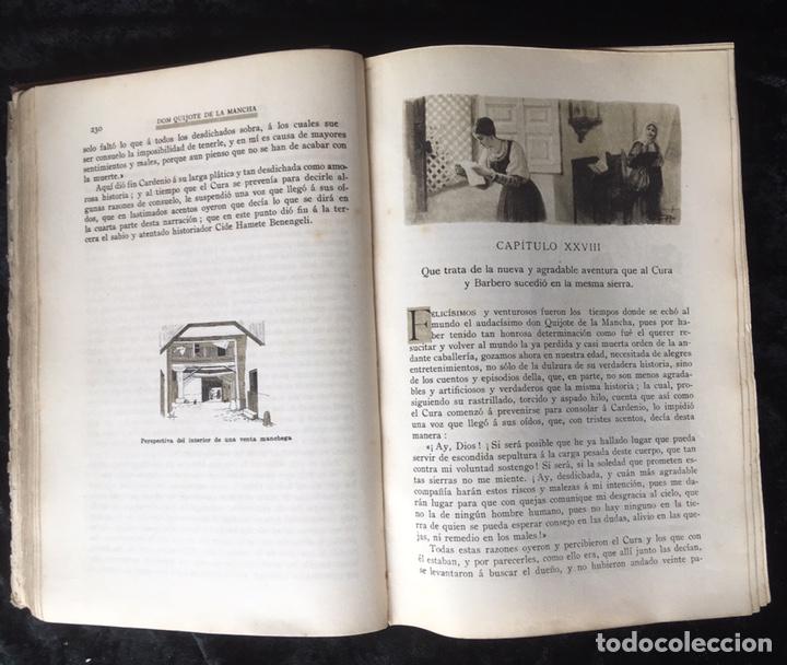 Libros antiguos: DON QUIJOTE DE LA MANCHA - CERVANTES - CALLEJA - COMPLETO - ILUSTRACIONES MANUEL ANGEL - Foto 11 - 165744322