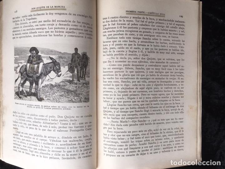 Libros antiguos: DON QUIJOTE DE LA MANCHA - CERVANTES - CALLEJA - COMPLETO - ILUSTRACIONES MANUEL ANGEL - Foto 10 - 165744322