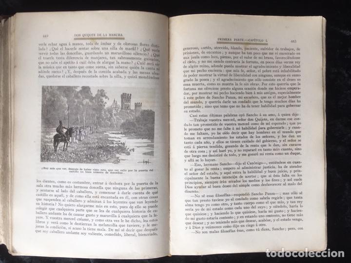 Libros antiguos: DON QUIJOTE DE LA MANCHA - CERVANTES - CALLEJA - COMPLETO - ILUSTRACIONES MANUEL ANGEL - Foto 13 - 165744322